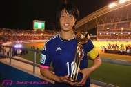 W杯制覇のリトルなでしこ、AFC最優秀チームに選出。キャプテン・杉田も最優秀ユース選手に